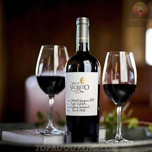 Rượu vang Chile Valle Secreto First Edition
