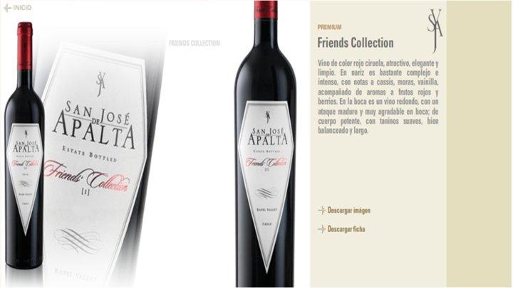 Rượu vang Apalta Friends Collection