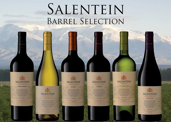 Rượu vang salentein Barrel Selection