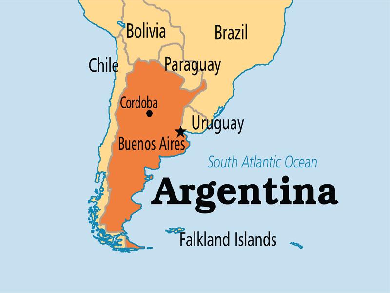 Vùng vang Argentina