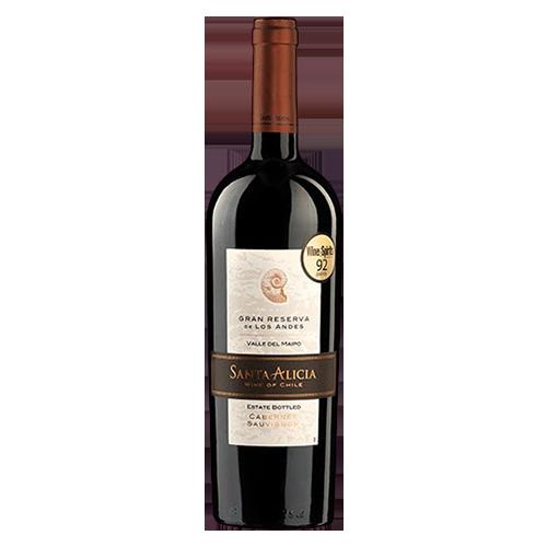 Rượu vang Santa Alicia Gran Reserva Cabernet Sauvignon