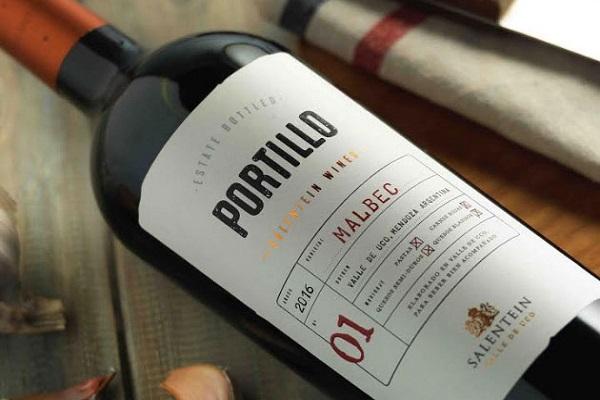 Vang Argentina Portillo Malbec