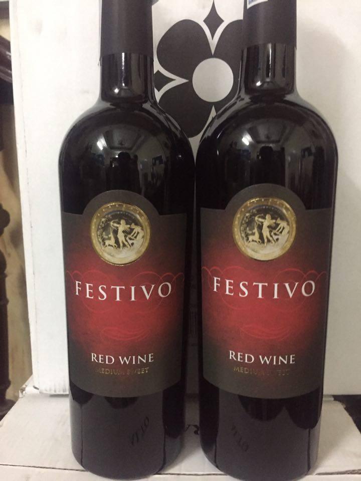 Rượu vang ý festivo medium weet