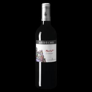 Rượu vang Ardeche Merlot