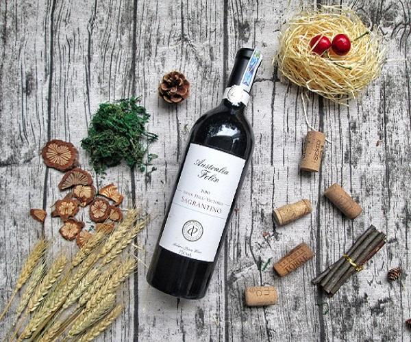 Rượu vang Australia Felix Sagrantino nhập khẩu từ Úc chính hãng