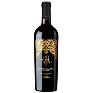 Rượu vang Ý M Merlot salento Limited Edition