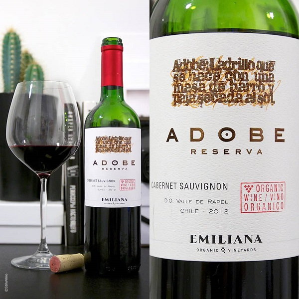 Vang Chile Emiliana Adobe Carbernet Sauvignon