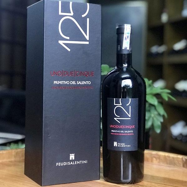 Rượu vang 125 14 độ
