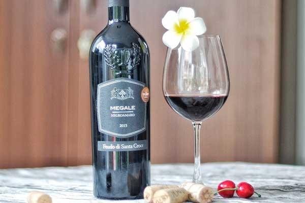 Rượu vang Ý ngon giá rẻ Megale Negroamaro