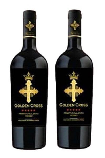 Vang Ý Golden Cross Primitivo Salento Rosso