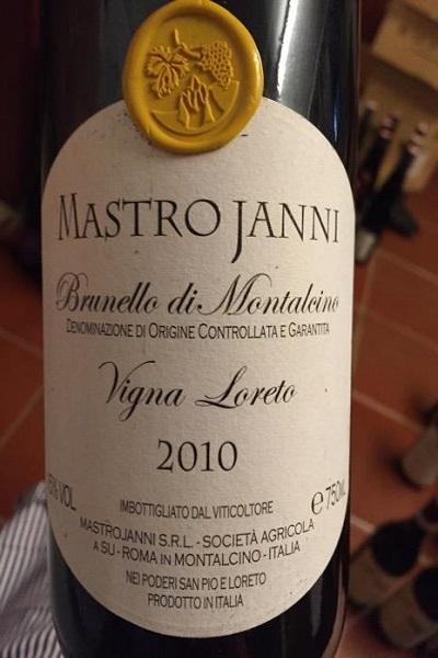Vang Ý Mastrojanni Brunello Di Montalcino
