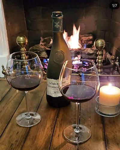 Rượu vang Chateauneuf du Pape