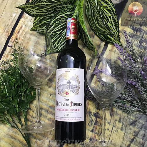 Rượu vang Pháp Chateau des Combes