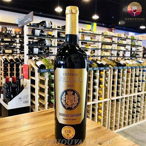 Rượu vang Pháp Chateau Meillier