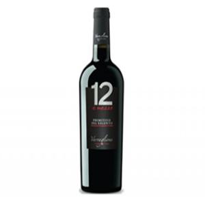 Rượu vang 12 E Mezzo Primitivo