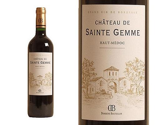 Rượu vang Chateau de sainte gemme