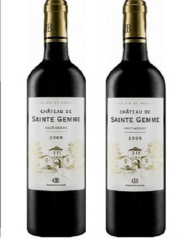 Rượu vang Pháp Chateau De Sainte Gemme
