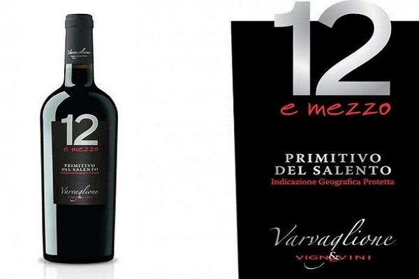 Rượu vang ý 12 e mezzo primitivo