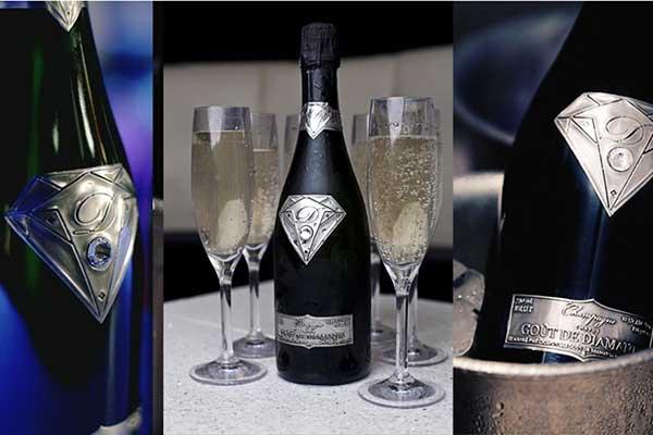 Top 10 chai rượu champagne đắt nhất thế giới năm 2018 1