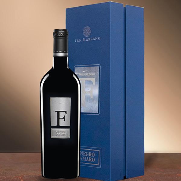 Hộp rượu vang F Negroamaro biếu tết sang trọng