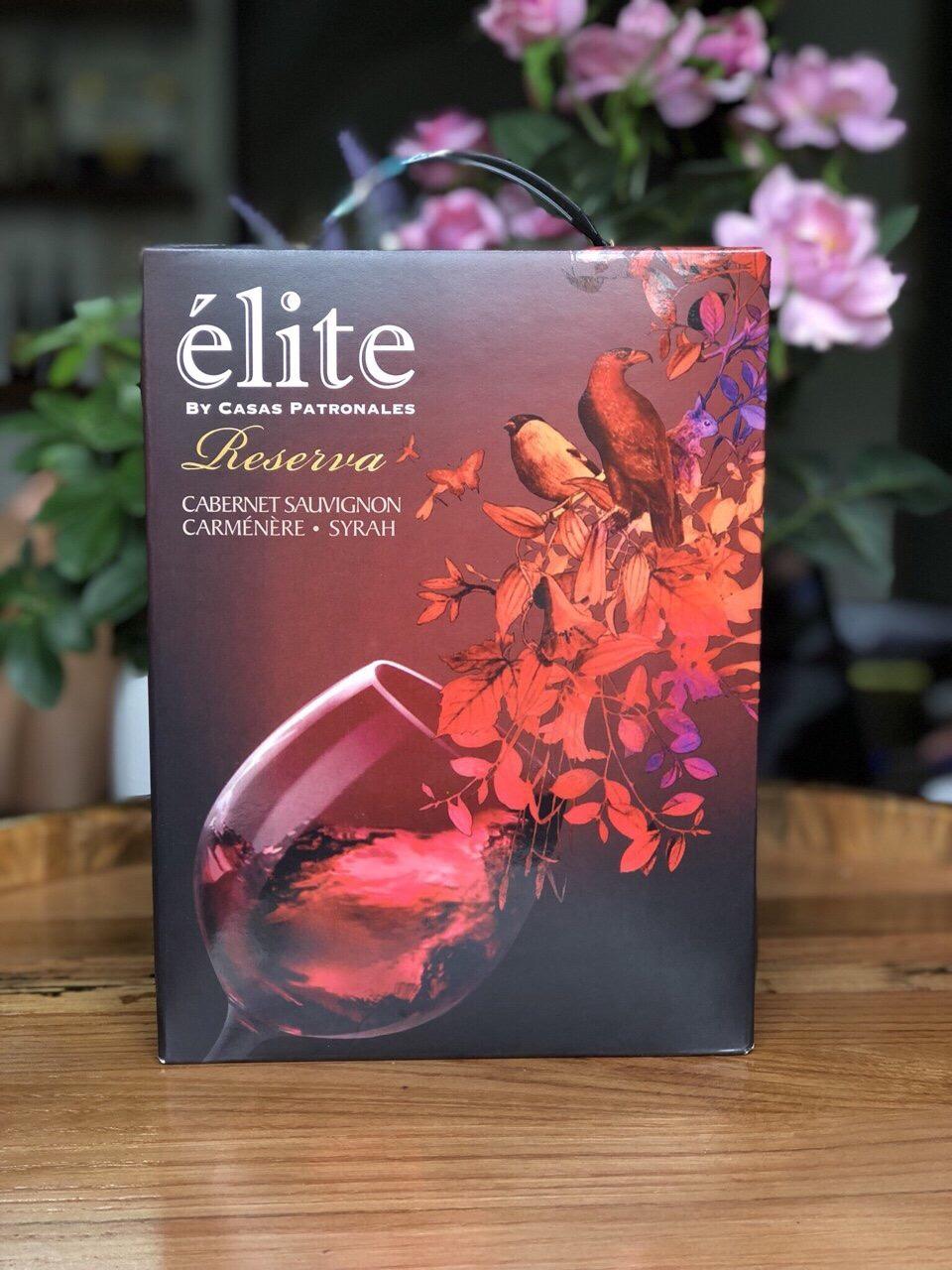 Rượu vang bich Elite Casas Patronales Reserva