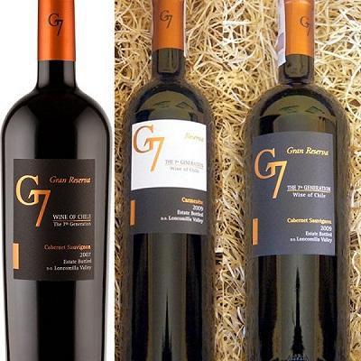Rượu vang chile G7