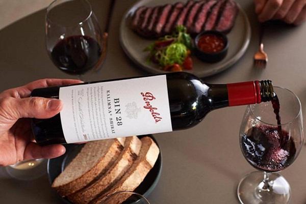 Rượu vang Úc Penfolds Bin 28