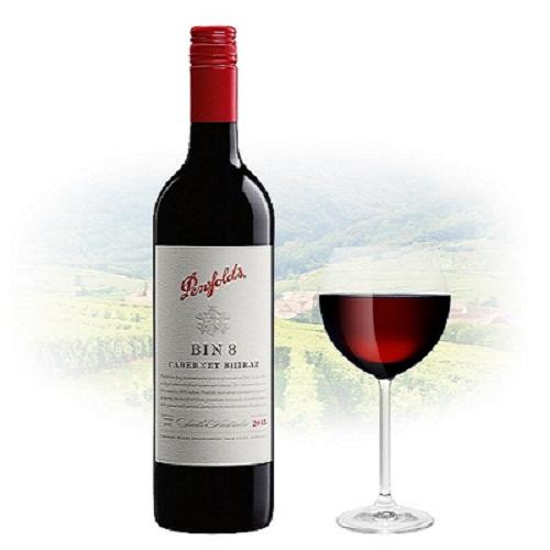 Rượu vang Úc Penfolds Bin 8
