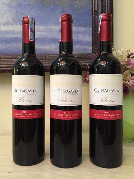 Rượu vang Chile Ochagavia Silvestre_cab