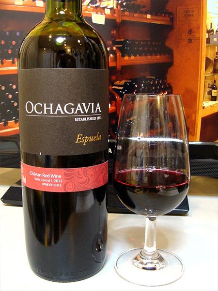 Rượu vang chile Ochagavia Espuela