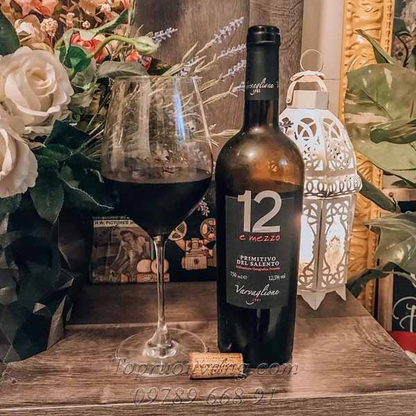 Rượu vang ngọt 12 E Mezzo