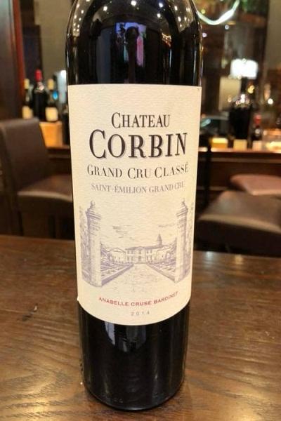 Rượu vang Pháp Chateau Corbin
