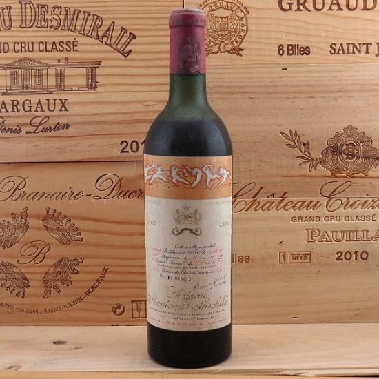 Rượu vang Pháp Chateau Mouton Rothschild