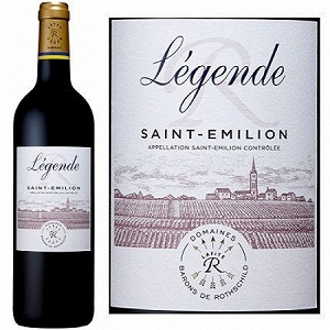 Rượu vang Pháp Legende Saint Emilion