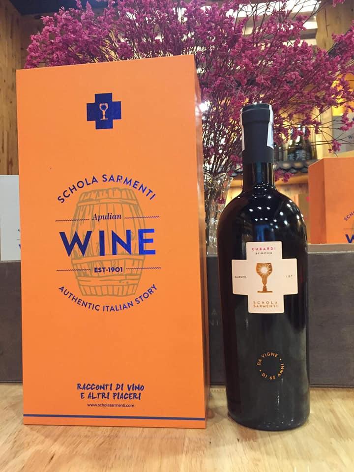 Rượu vang Ý Cubardi