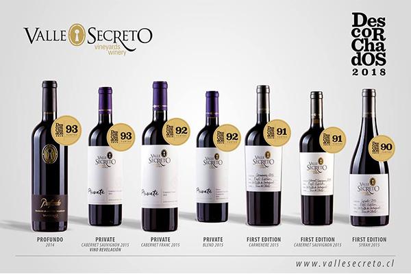 Top những chai rượu vang Chile ngon