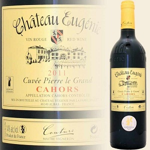 Vang Pháp Chateau Eugenie Cahors Cuvee Pierre Grand