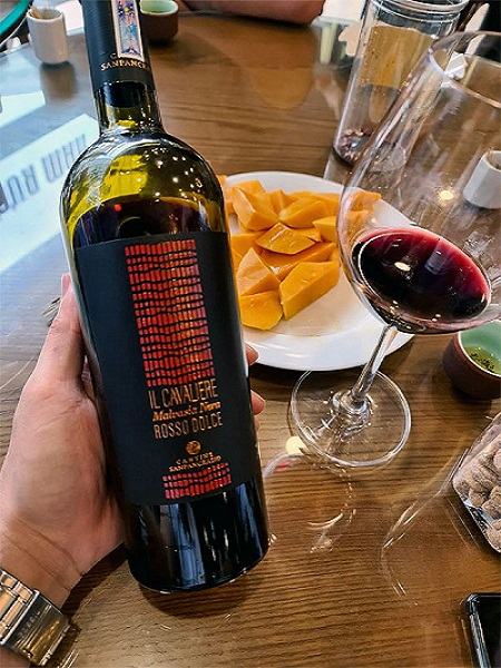 Rượu vang IL Cavaliere ngon yêu thích nhất