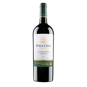 Rượu vang Chile Perez Cruz Carmenere Limited