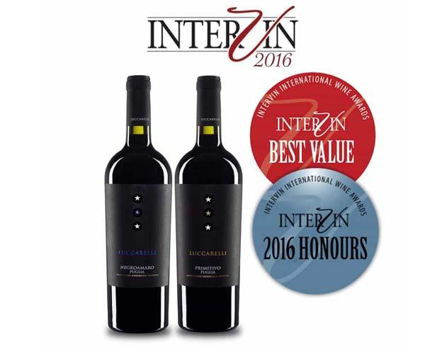 Rượu vang Ý Lucarelli Negroamaro