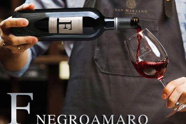 Rượu vang chữ F nho Negroamaro có ngon?