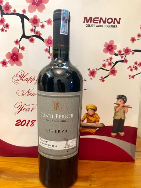 Rượu vang Punti Ferrer Reserva 1
