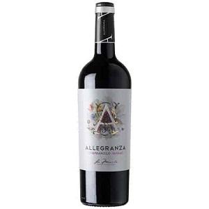 Rượu vang Allegranza Tempranillo
