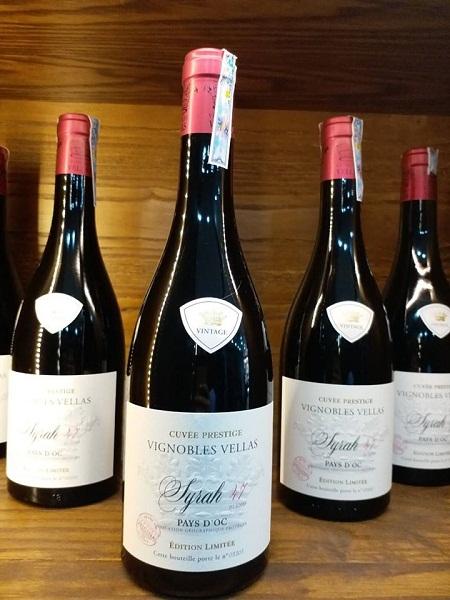 Rượu Pháp Vignobles Vellas SyraH 47 Cuvee Prestige