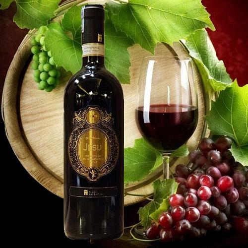 Rượu ý Jesu Primitivo cao cấp