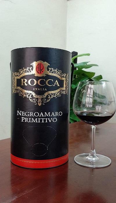 Bịch vang ống Rocca giá rẻ