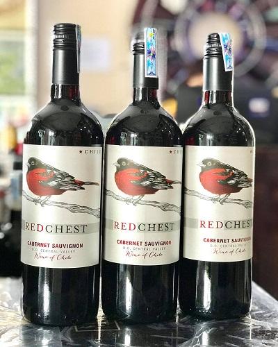 Rượu vang Chile Red Chest giá rẻ tại hà Nội