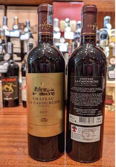 Rượu vang Pháp Chateau La Cafourche