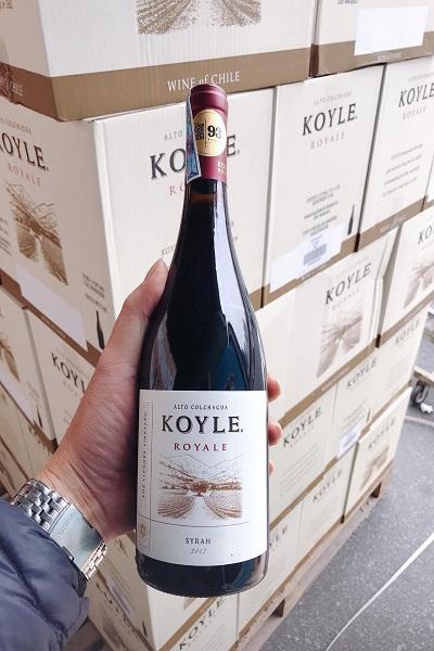 Vang chile Koyle Syrah nhập khẩu chính hãng giá tốt nhất