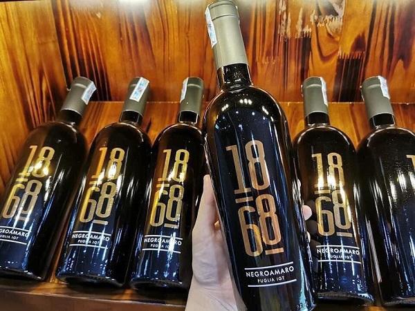 Rượu vang 1868 Negroamaro giá tốt nhất Hà Nội